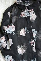 Цветочная шифоновая блуза New Look, фото 3
