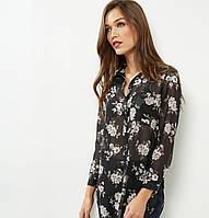 Цветочная шифоновая блуза New Look