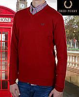 Свитер мужской Fred Perry-114 красный