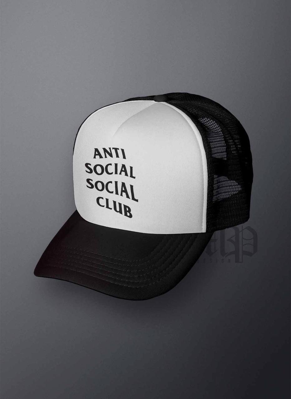 Кепка Тракер Anti Social Social Club (Анти Сошал Сошал Клаб)