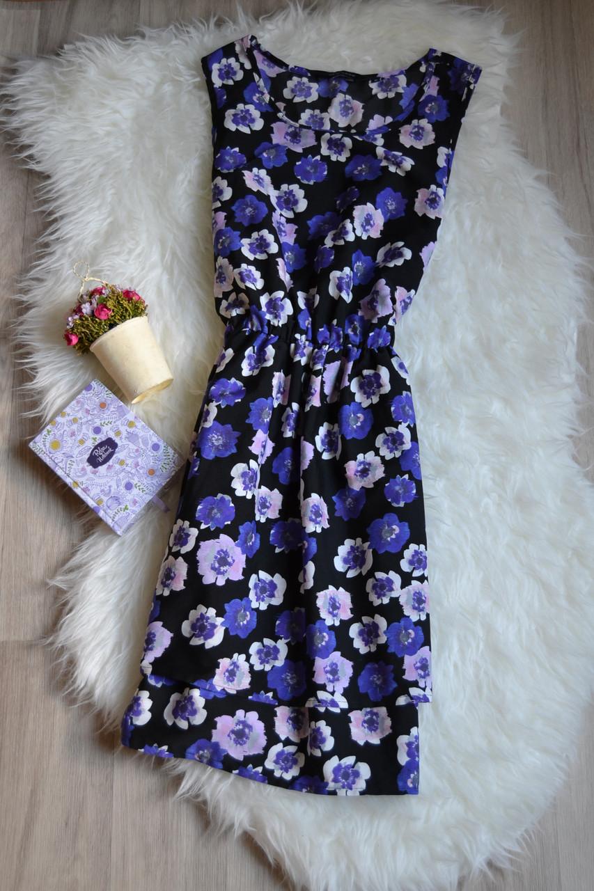 Цветочное короткое платье New Look
