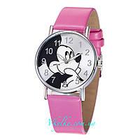 Детские часы Mickey Mouse розовые