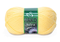 Nako Astra блідо-жовтий № 215