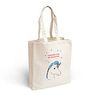 """Эко-сумка """"Unicorn"""", натуральный хлопок"""
