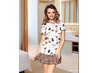 Домашняя одежда Lady Lingerie - 6189 L платье Код  6080