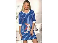 Домашняя одежда Lady Lingerie - 6200 М платье Код  2000008470001