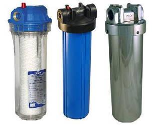 Монтаж и обслуживание магистральных фильтров очистки воды