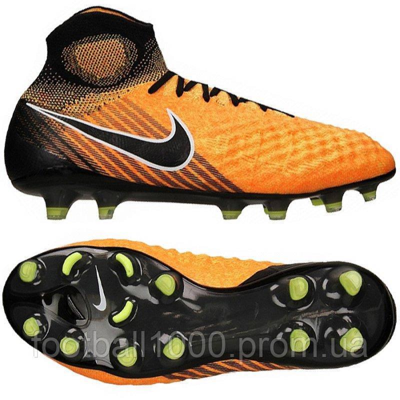 d75580b1 Футбольные бутсы Nike Magista Obra II FG 844595-801, цена 5 984 грн ...