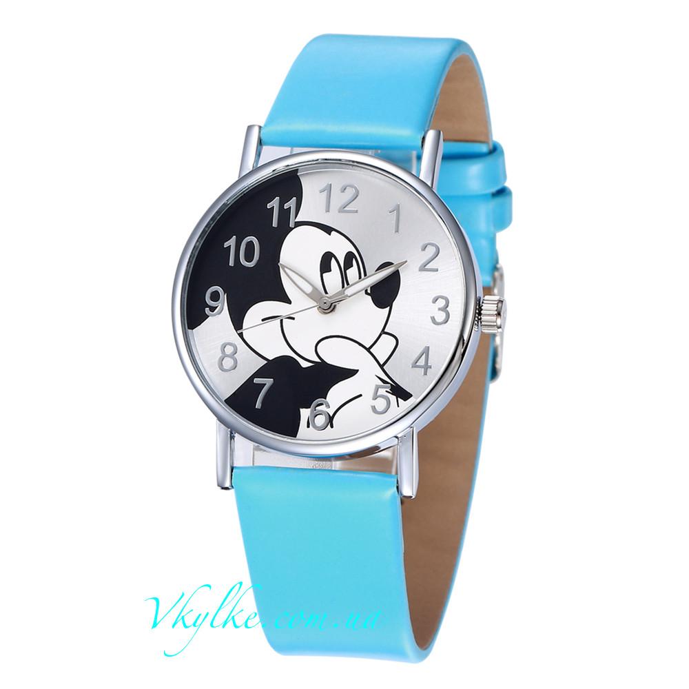 Детские часы Mickey Mouse голубые - Интернет-магазин часов «В кульке!» в 8b6a78ccd757b