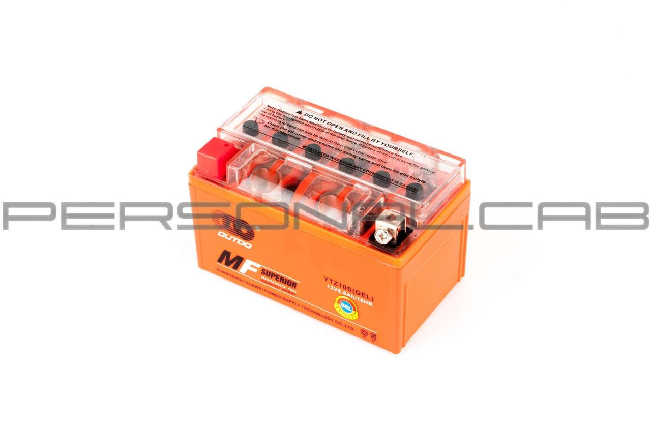 Аккумулятор 12V 8,6А гелевый (оранжевый)