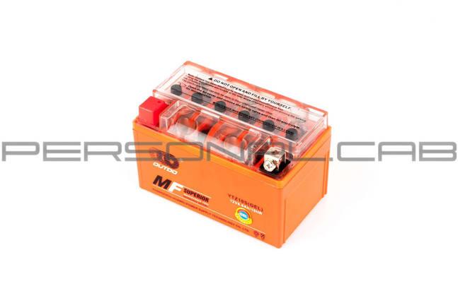 Аккумулятор 12V 8,6А гелевый (оранжевый), фото 2