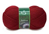 Nako Astra темно-червоний № 1175