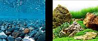 Фон Hagen двойной, каменная река/японский сад