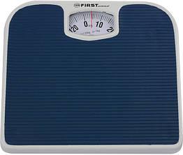 Механические весы напольные для взвешивания человека до 130кг First FA-8020-BU