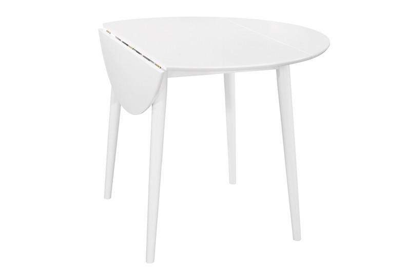 Стол обеденный Астер Раскладной Белый (Domini TM)