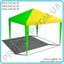 Шатёр Разборной 3х3 метра, шатёр без стен, навес шатёр, шатёр для торговли, фото 3