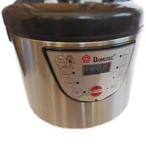 Мультиварка Domotec 7722 5л 6 программ Metall + книга рецептов, фото 2