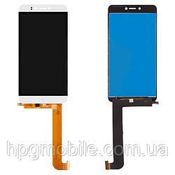 Дисплейный модуль (дисплей + сенсор) для Prestigio MultiPhone PSP 3530 Muze D3, белый, оригинал
