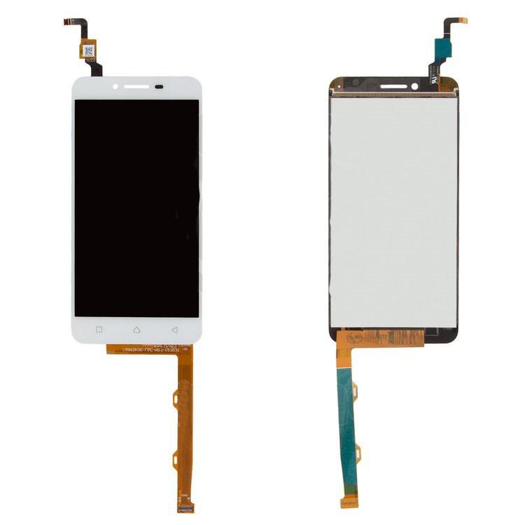 Дисплей Lenovo Vibe K5 Plus (A6020a46) Lemon 3  with touchscreen white orig