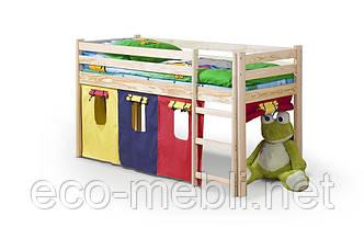 Ліжко Neo sosna з матрацом