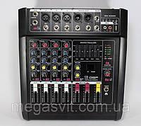 Звуковой микшер Mixer BT-5200D 5ch, аудиомикшер