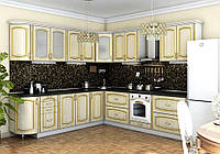 "Угловая кухня ""Платинум 2650 x 3000"" Garant"