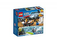 Конструктор LEGO City Береговая охрана: для начинающих (60163)