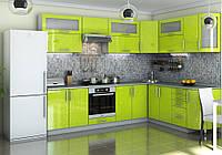 """Угловая кухня """"Гламур 2800 x 2100"""" Garant"""