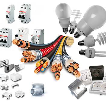 Электрика, электротовары и комплектующие