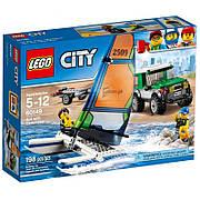 Конструктор LEGO City Внедорожник с прицепом для катамарана (60149)