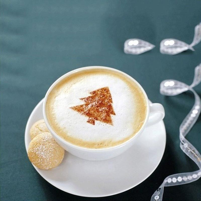 Трафареты для кофе 16 шт.