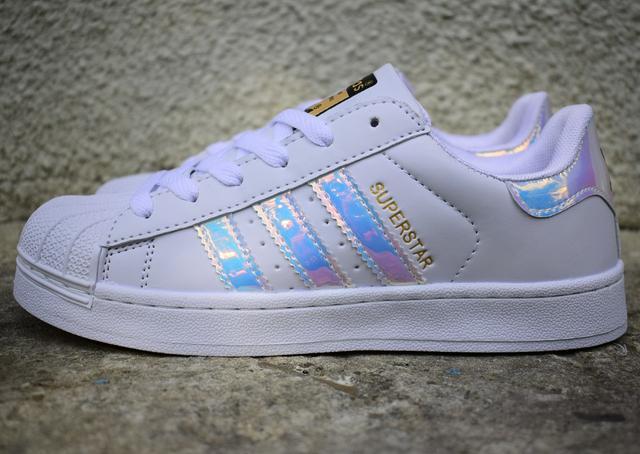 Жіночі Adidas Superstar Holographic White(реплика) 7ffdc89f931d3