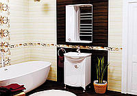 """Комплект мебели для ванной """"Долорес"""" Аквамарин"""