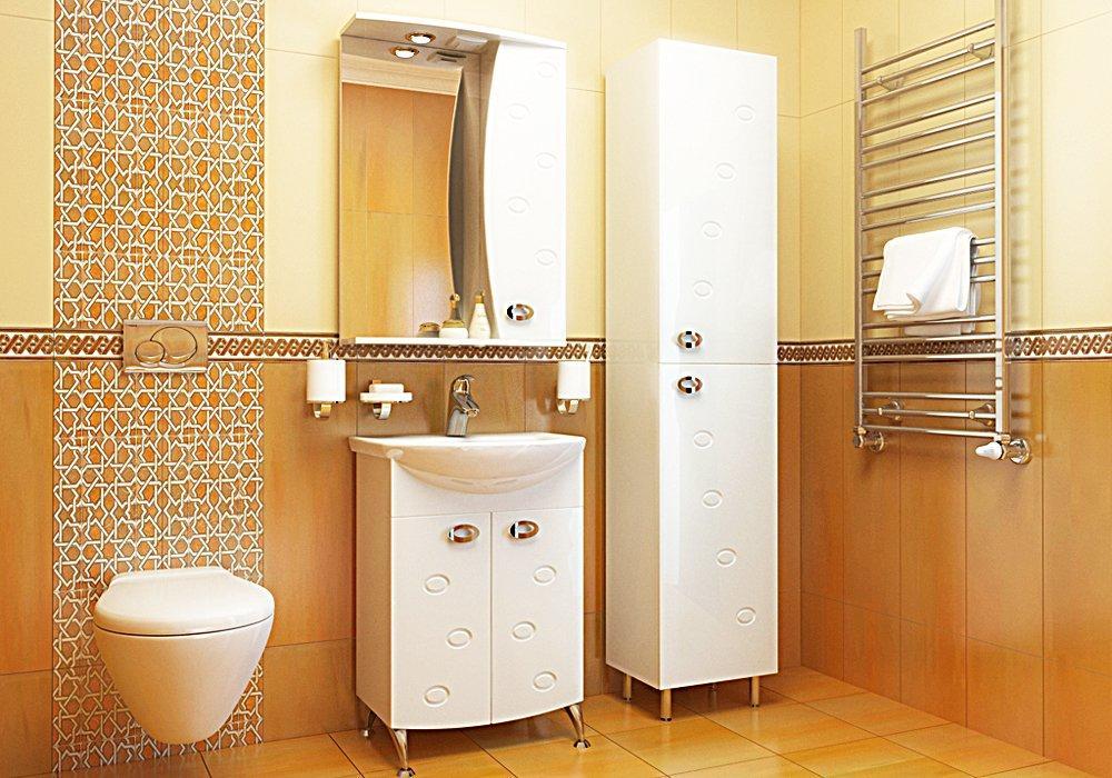 Мебель ванной аквамарин Мойка кухонная Dr. Gans Nika 570 серая