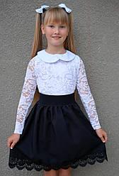 Детская юбка для школы 3549