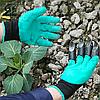 Садовые перчатки с когтями Garden Genie Gloves, фото 5