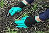 Садовые перчатки с когтями Garden Genie Gloves, фото 6