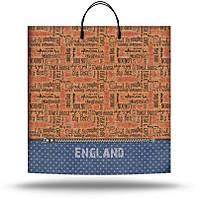 Пакет пластиковая ручка Англия 36*37