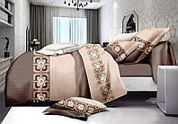Семейный комплект постельного белья сатин (7838) TM KRISPOL Украина