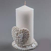 Подсвечник + свеча Love