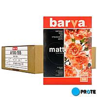 Фотобумага матовая А4 500 л. плотность 180 г/м² Barva IP-A180-185