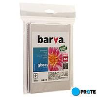 ФОТОБУМАГА BARVA Economy Глянцевая 200 г/м2 10x15 60л (IP-CE200-230)