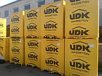 Газобетон, Газоблок, Газобетонные блоки стеновые UDK (ЮДК) D400 600х200х250, фото 1