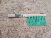 Щетка-сметка 3-рядная, 280 мм, деревянная ручка СИБРТЕХ