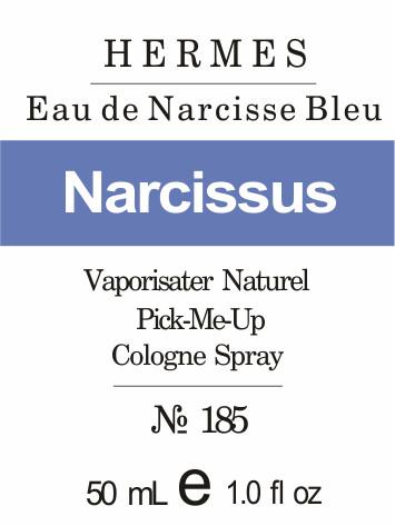 парфюмерное масло Narcisse Bleu парфюмерный концентрат по самым