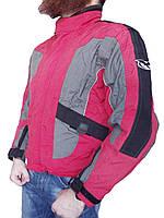 Мотокуртка текстильная с защитой Exezo  (сток, б/у) весна-осень