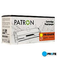 Картридж HP Q6002A Yellow Patron Extra PN-124AYR