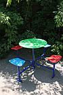 Столик для детской площадки,четырехместный., фото 2