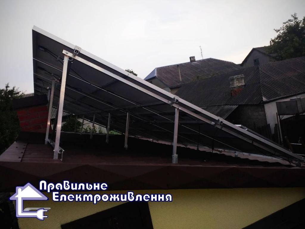 Мережева сонячна електростанція 20 кВт м. Рава-Руська 1