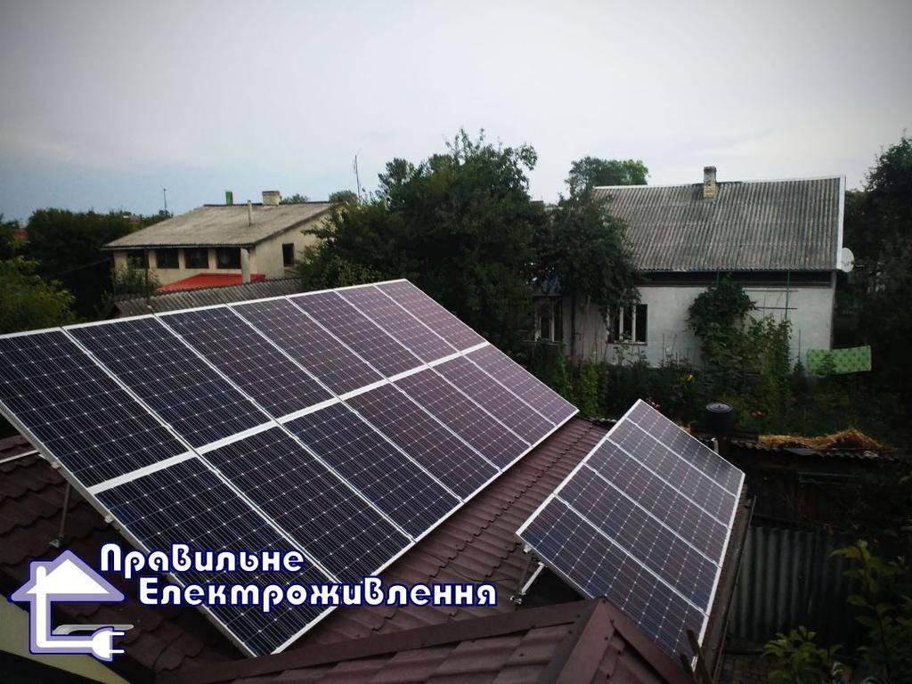Мережева сонячна електростанція 20 кВт м. Рава-Руська